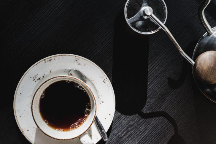 ブラックコーヒーの画像